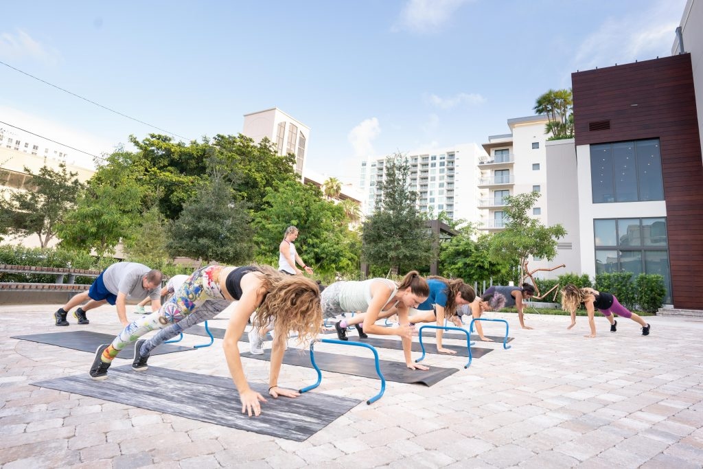 Free fitness classes in West Palm Beach