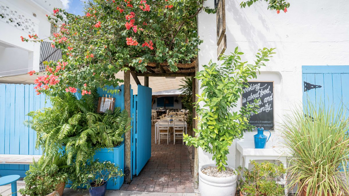 Mandolin Aegean Bistro, an escape to Greece